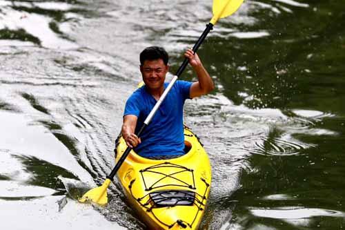 皮划艇团建活动