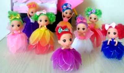 丝网娃娃编织课程